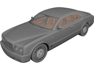 Bentley Brooklands 3D Model