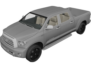 Toyota Tundra Pick Up (2008) 3D Model