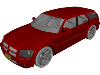Dodge Magnum SRT8 3D Model