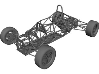 Chassis F600 CAD 3D Model