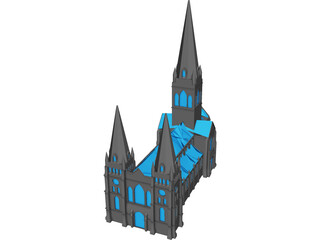 St. Pauls Cathedral 3D Model