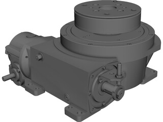Camco 902RDM Indexer CAD 3D Model