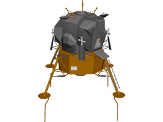 Apollo Lunar Module LEM 3D Model