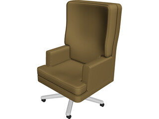 Chair Executive 3D Model