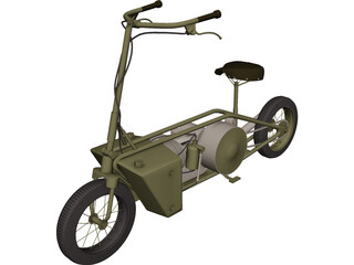 TH1 Welbike 3D Model