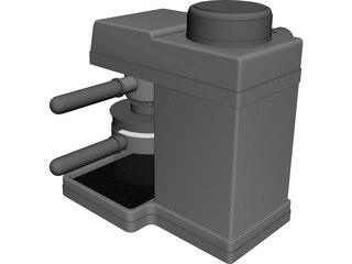 Capachino Maker 3D Model