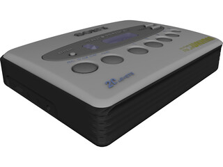 Sony Walkman 3D Model