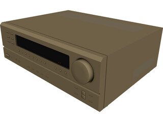 Denon Amplifier 3D Model