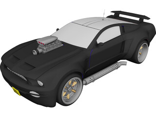 Ford Mustang (2003) [Supercharged] 3D Model