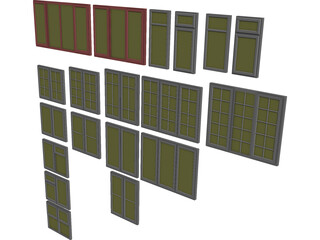Windows Collection 3D Model