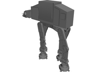 Star Wars Imperial Walker 3D Model