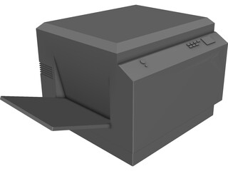 Xerox Copier 3D Model