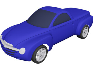 Chevrolet SSR 3D Model 3D Preview