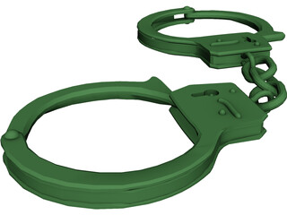 Handcuffs 3D Model