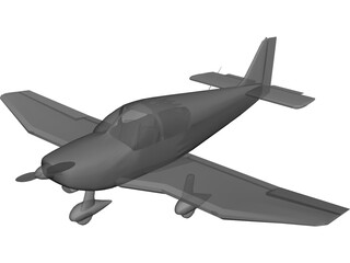 Robin DR400 3D Model