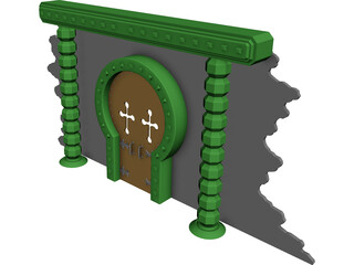 Archway Tomb 3D Model