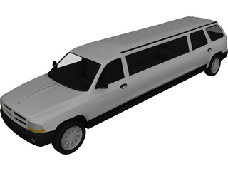 Dodge Durango Limo 3D Model