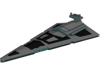 Star Wars Imperial Star Destroyer 3D Model