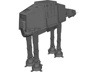 Star Wars Imperial AT-AT 3D Model