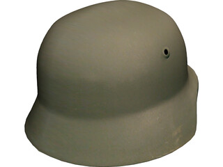 WW2 Nazi Helmet 3D Model