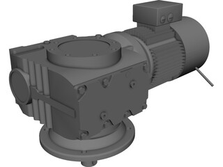 Electrical Engine 3D Model