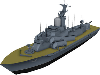 Mine Destroyer 3D Model