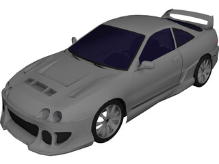 Honda Integra Type-R [Tuned] 3D Model