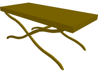 Table Coffee 3D Model