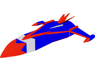 Phoenix [Battle of the Planets] 3D Model