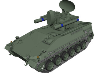 Marder Roland 3D Model