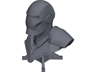 Iron Man Mark 2 CAD 3D Model
