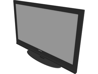 Samsung Plasma TV PS-42Q91H 3D Model