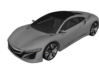 Acura NSX Concept 3D Model