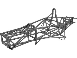 Formula Sena Frame 3D Model 3D Preview