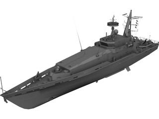 Patrol Boat Ararat 3D Model 3D Preview