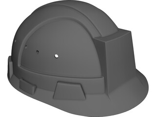 Helmet CAD 3D Model