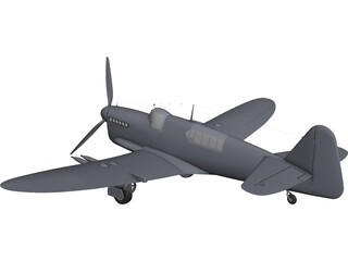 Fairey Firefly CAD 3D Model