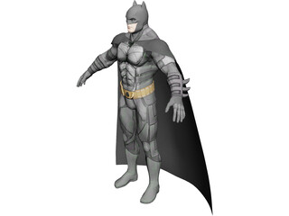 Batman Captain Jack 3D Model