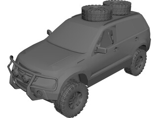 Suzuki Grand Vitara Offroad 3D Model