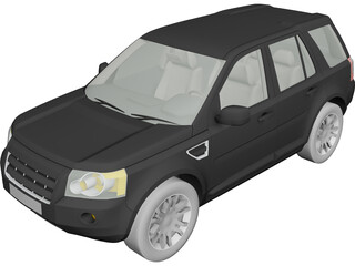 Land Rover Freelander 3D Model