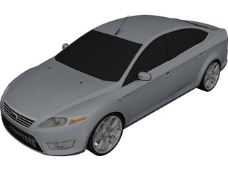 Ford Mondeo MK IV (2007) 3D Model