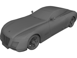 Maybach Exelero 3D Model