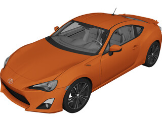 Toyota FT86 3D Model