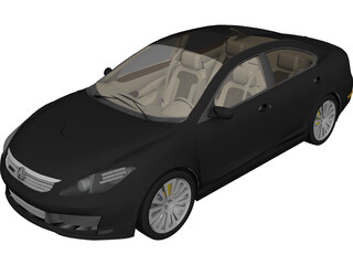 Acura ML SH AWD (2012) 3D Model