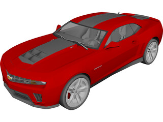 Chevrolet Camaro ZL1 (2012) 3D Model