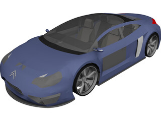 Citroen Prototype 3D Model