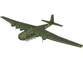 Messerschmitt Me 323 Gigant 3D Model