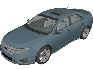 Ford Fusion Sport 3D Model