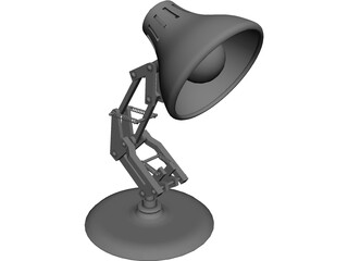 Luxo Jr. CAD 3D Model