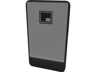 Samsung Galaxy S2 Phone 3D Model